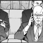 亜人の平沢ら黒服4人【背中で語る男達】